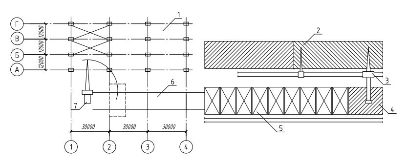 Схема строительного конвейера