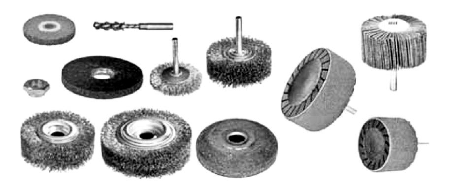 Шероховальный и шлифовальный инструмент