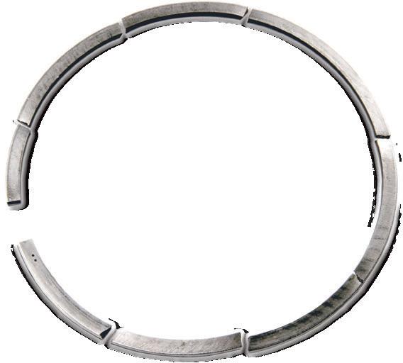 Сломанное поршневое кольцо