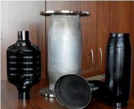 Сменные фильтры каталитического нейтрализатора на выпуске