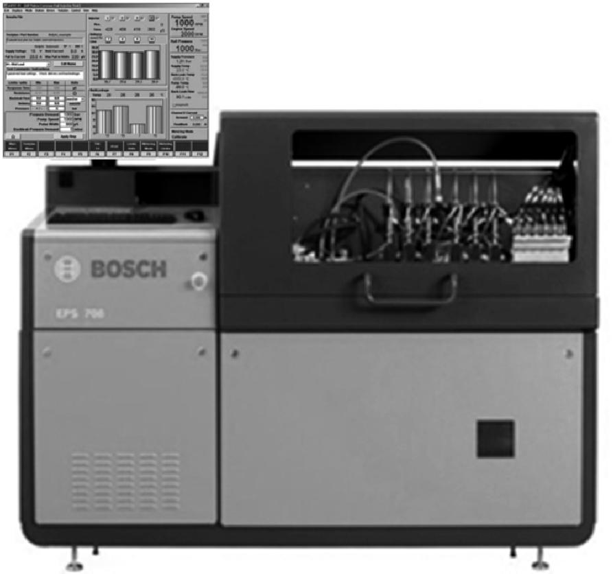 Стенд Bosch EPS 708 для проверки компонентов топливной системы Common Rail