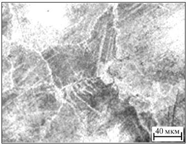 Структура сплава МЛ5 после закалки с 420 °C и старения при 180 °C в течение 20 ч