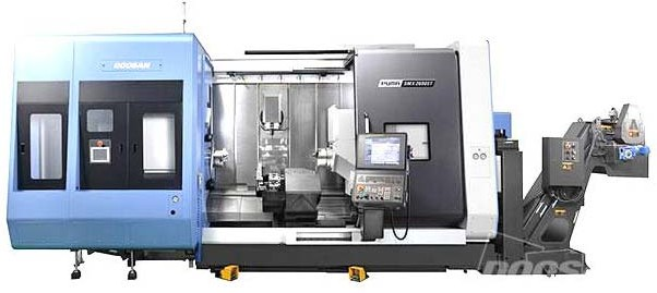 Супермультифункциональный токарный центр серии оборудования PUMA SMX ST