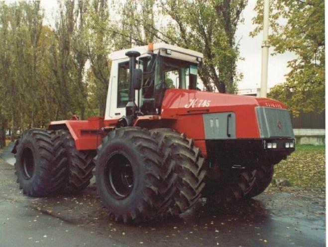 трактор К-745