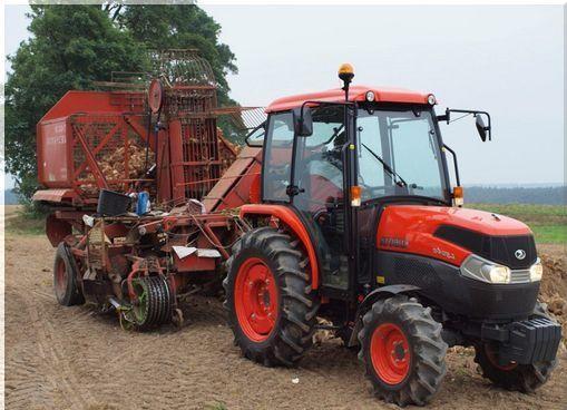 трактор Kubota L5040