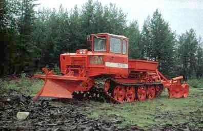 трактор ОНЕЖЕЦ ЛХТ-100