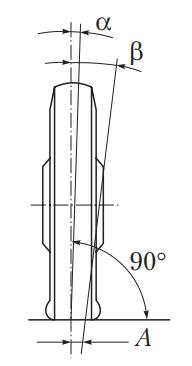 Угол поперечного наклона оси