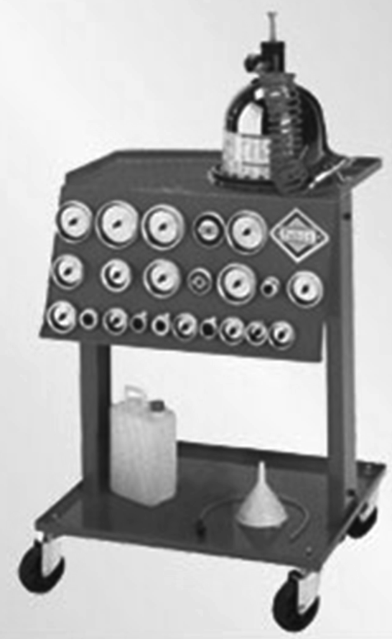 установка для замены тормозной жидкости