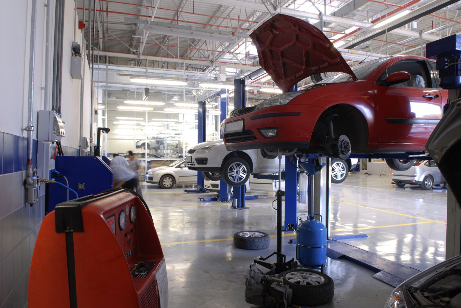 техническое обслуживание и ремонте автомобилей