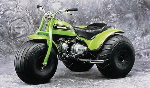 Вездеходный мотоцикл Honda US90