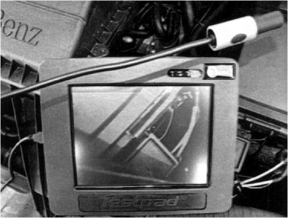 Видеокамера для осмотра внутренних труднодоступных полостей