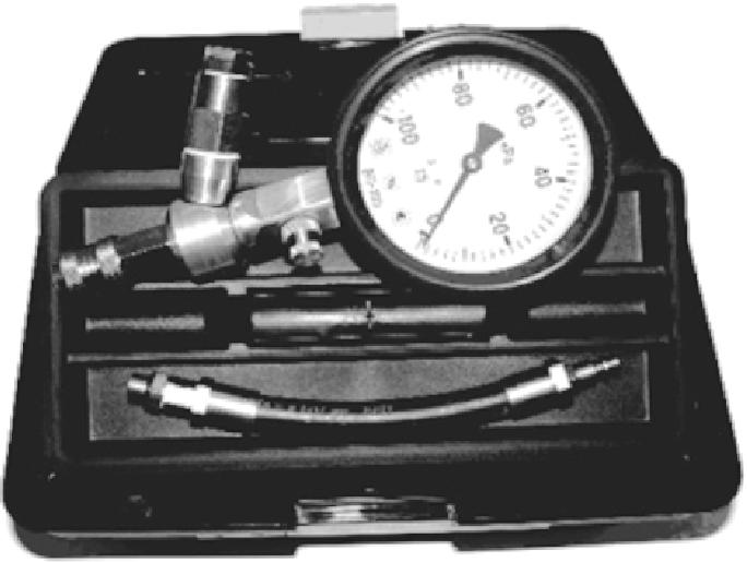 Внешний вид анализатора герметичности цилиндра (АГЦ)