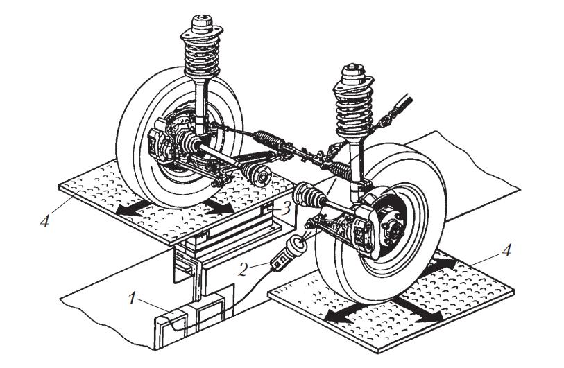 Внешний вид детектора люфтов
