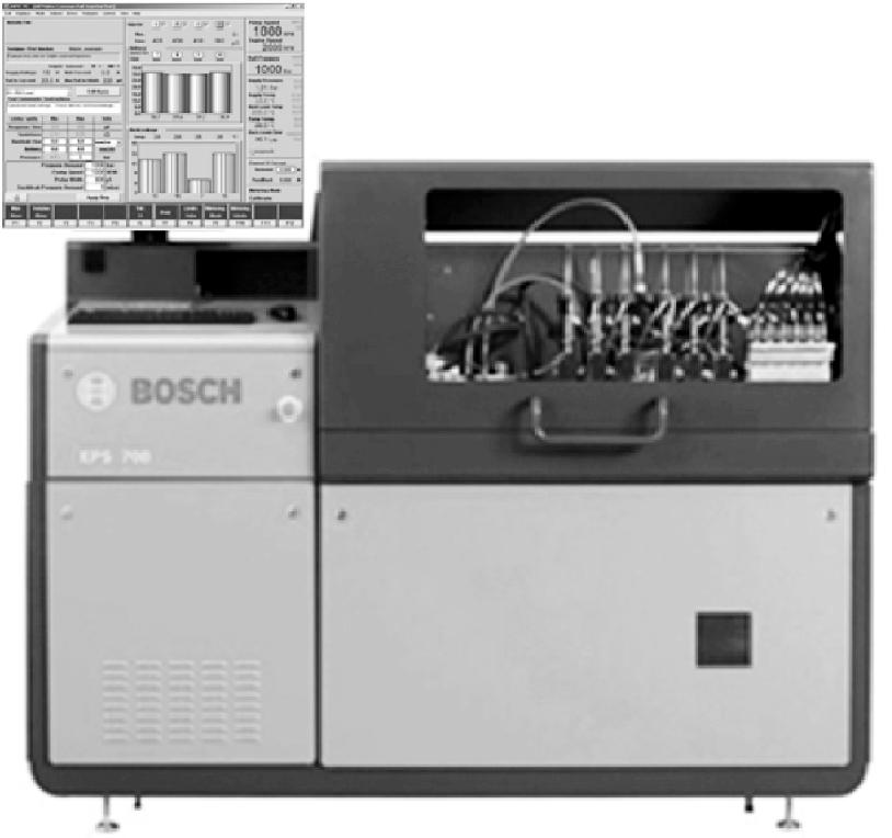 Внешний вид стенда КИ-28256.01 для испытания, обкатки и регулировки масляных насосов и фильтров ДВС