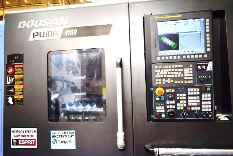 Высокомощный токарный обрабатывающий центр PUMA 4100B