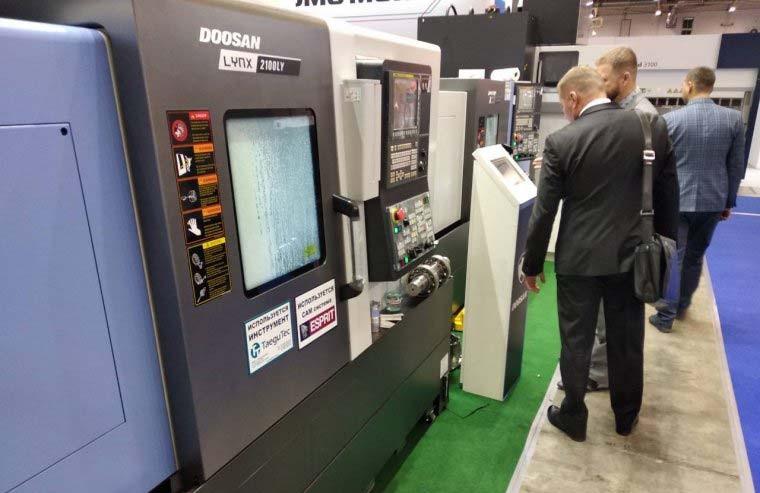 Высокопроизводительный токарный обрабатывающий центр нового поколения LYNX 2100LYB