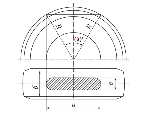 Зона измерения износа протектора шины