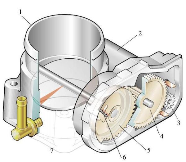 Модуль управления дроссельной заслонкой