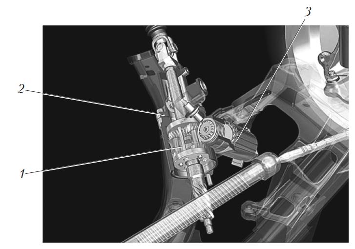Электромеханический привод рулевого управления BMW