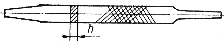 Форма сечения напильника