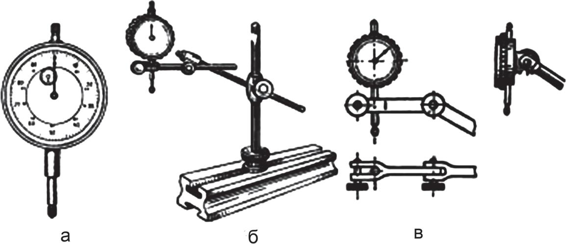 Индикатор часового типа и установка индикатора для измерения