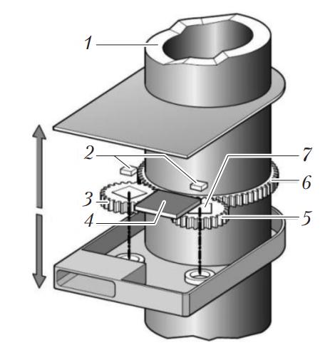 Магниторезистивный датчик угла поворота рулевого колеса