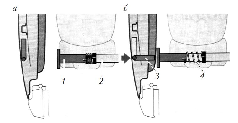 Механизм для предотвращения последствий бокового удара