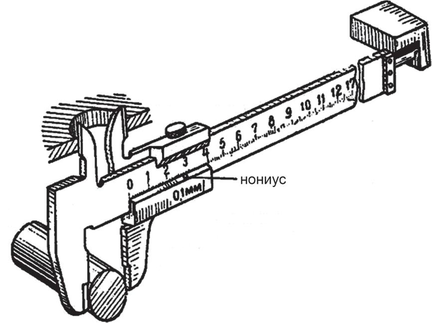 Методы измерения размеров штангенциркулем