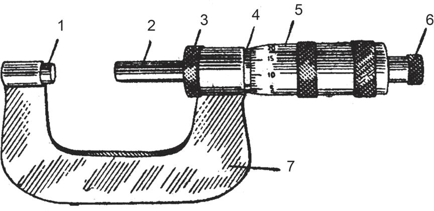 Микрометр для наружных измерений