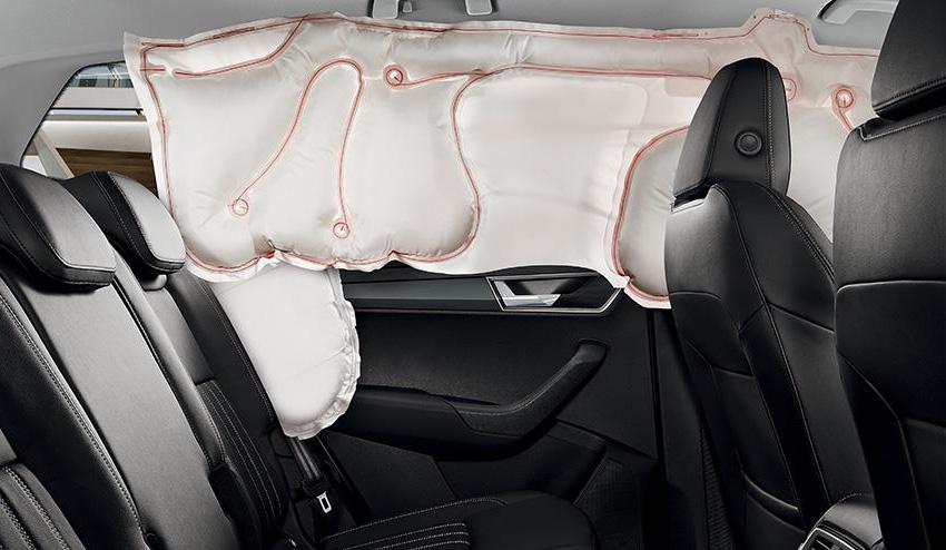 Надувная занавеска безопасности