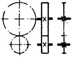 Передачи зубчатые (цилиндрические) между параллельными валами