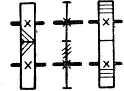 Передачи зубчатые между параллельными валами