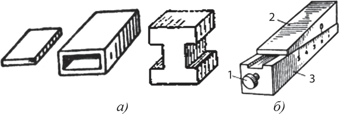 Подкладки для установки детали на разметочной плите