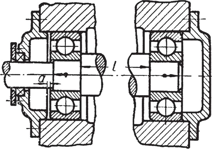 Подшипниковая сборочная единица, извлекаемая из корпуса