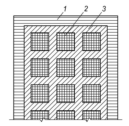 Рисунок ксилолитового (мозаичного) пола