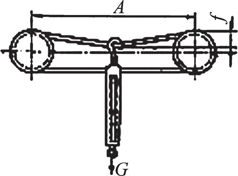 Схема проверки натяжения ремня с помощью динамометра