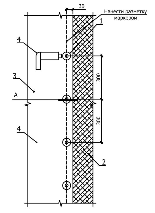 схема работ по механическому закреплению полотнищ ПВХ-мембраны