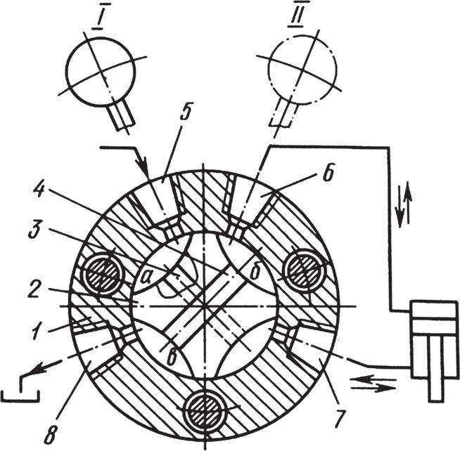 Схема работы поворотного крана