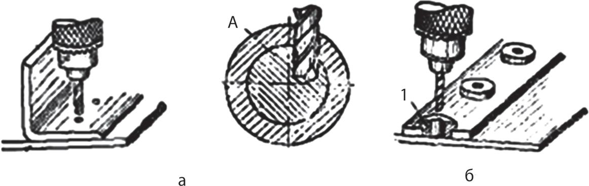 Сверление отверстий по шаблону и по кондуктору