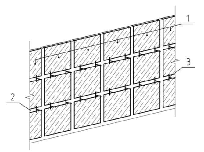 Установка маячных марок (крестиков) при укладке плитки