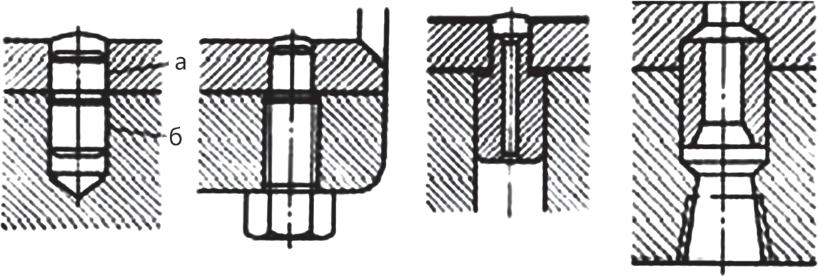 Установочные штифты для разъемных подшипников