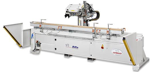 3-х координатный сверлильно-пазовальный центр с ЧПУ ALFA NC Centauro SpA