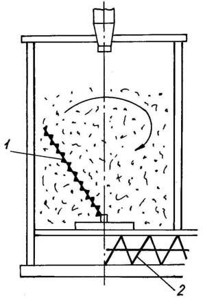 Бункер для хранения щепы