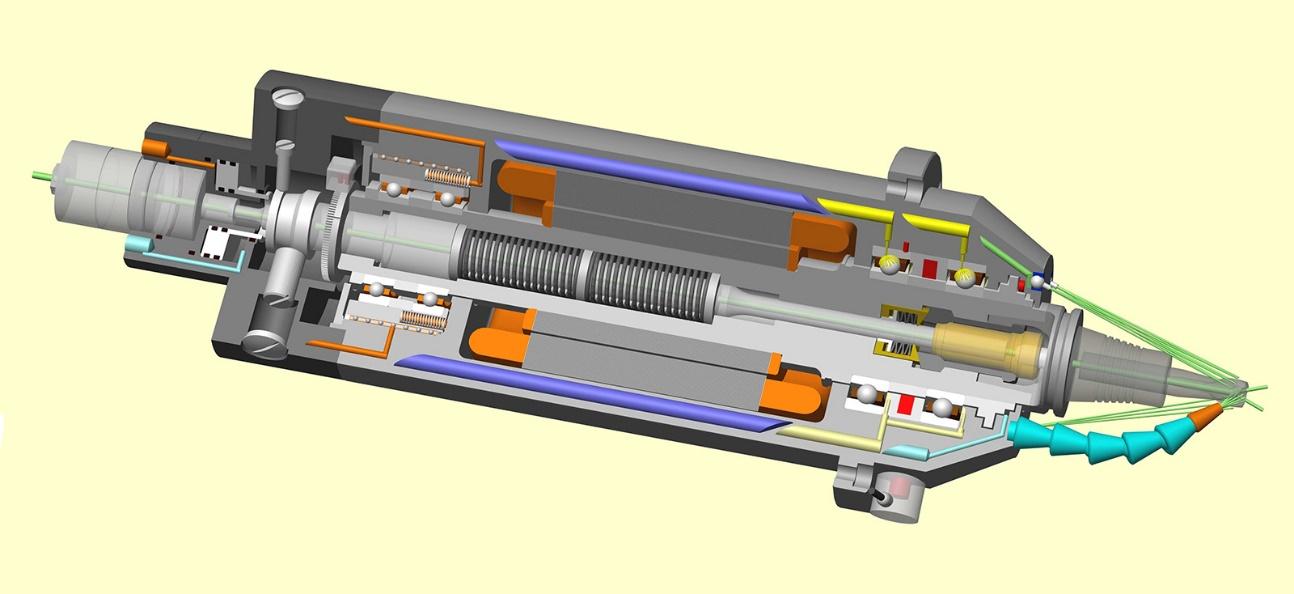 Электрошпиндель обрабатывающего центра фрезерно-сверлильно-расточной группы