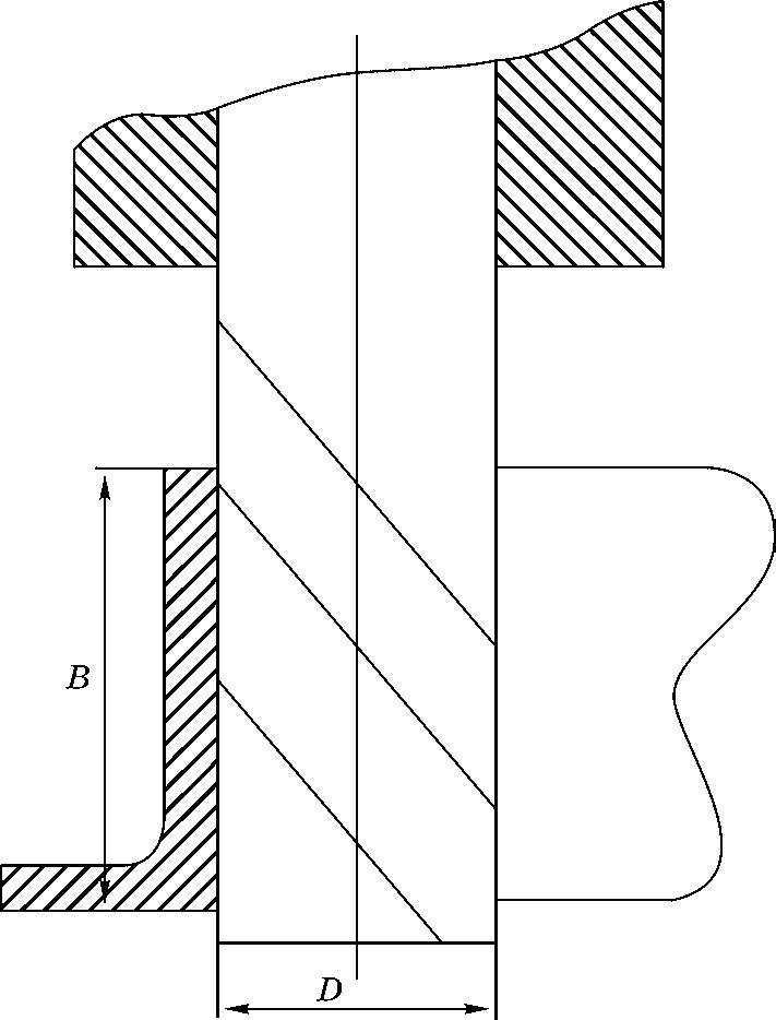 Формообразование отверстия фрезой с напайными пластинками твердого сплава или монолитной конструкции