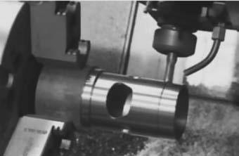 Фрезерование окон и других поверхностей, расположенных на цилиндрической поверхности