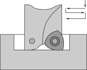 Фрезерование по методу маятниковой подачи