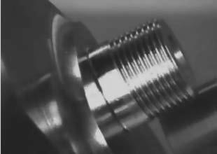 Фрезерование резьбы, расположенной под углом к оси шпинделя