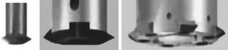 Фрезы с расположением режущих элементов на одном диске