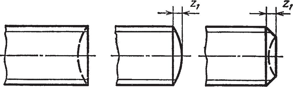Концы болтов, винтов и шпилек по ГОСТ 12414-66